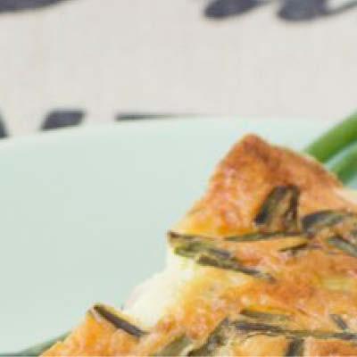Paprika-Broccoli-Quiche