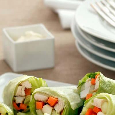 Salatroellchen-mit-Hähnchen-Möhren-Mayonnaise