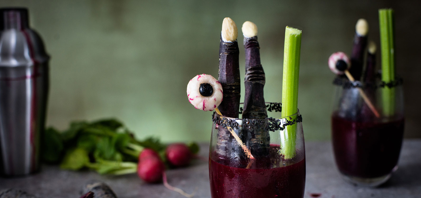 Rote Bete Bloody Mary