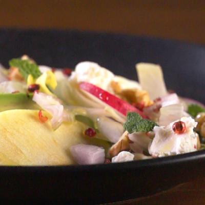Apfel-Advocado-Salat