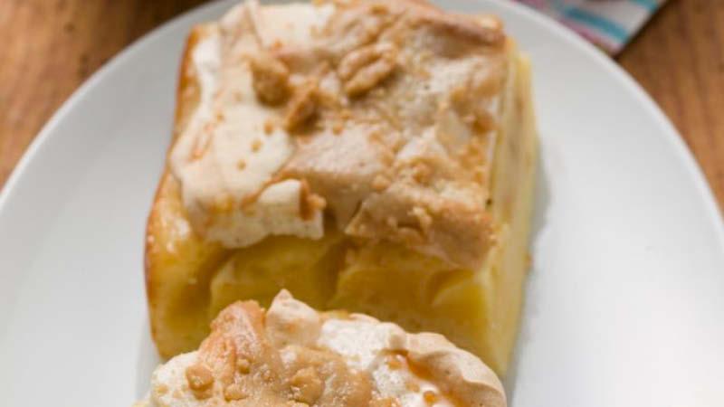 Rezept Fur Apfel Baiser Kuchen