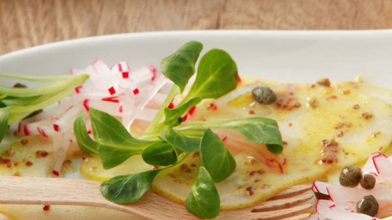 Feldsalat-mit-Birnen-Carpaccio