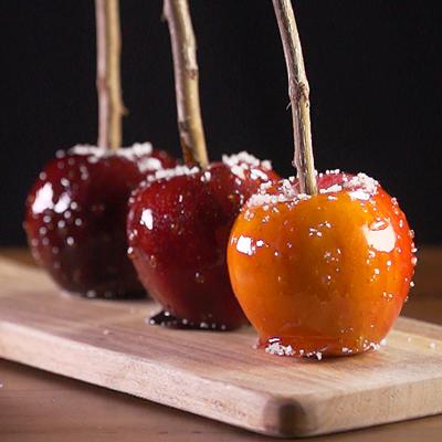 Karamell-Liebesäpfel