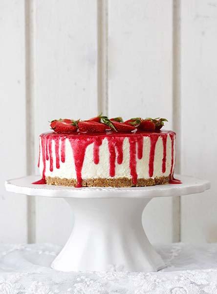 Emma Friedrichs Erdbeer-Nobake-Joghurt-Törtchen