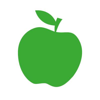 Apfelsorten Avatar weiß