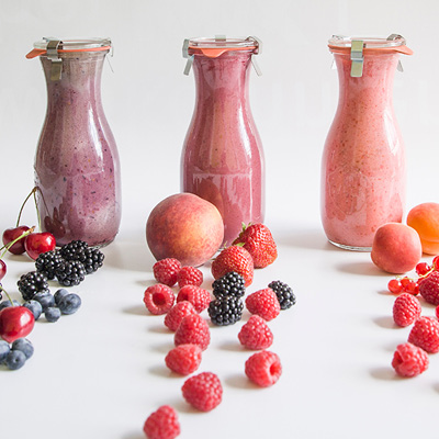 Beeren-Smoothies