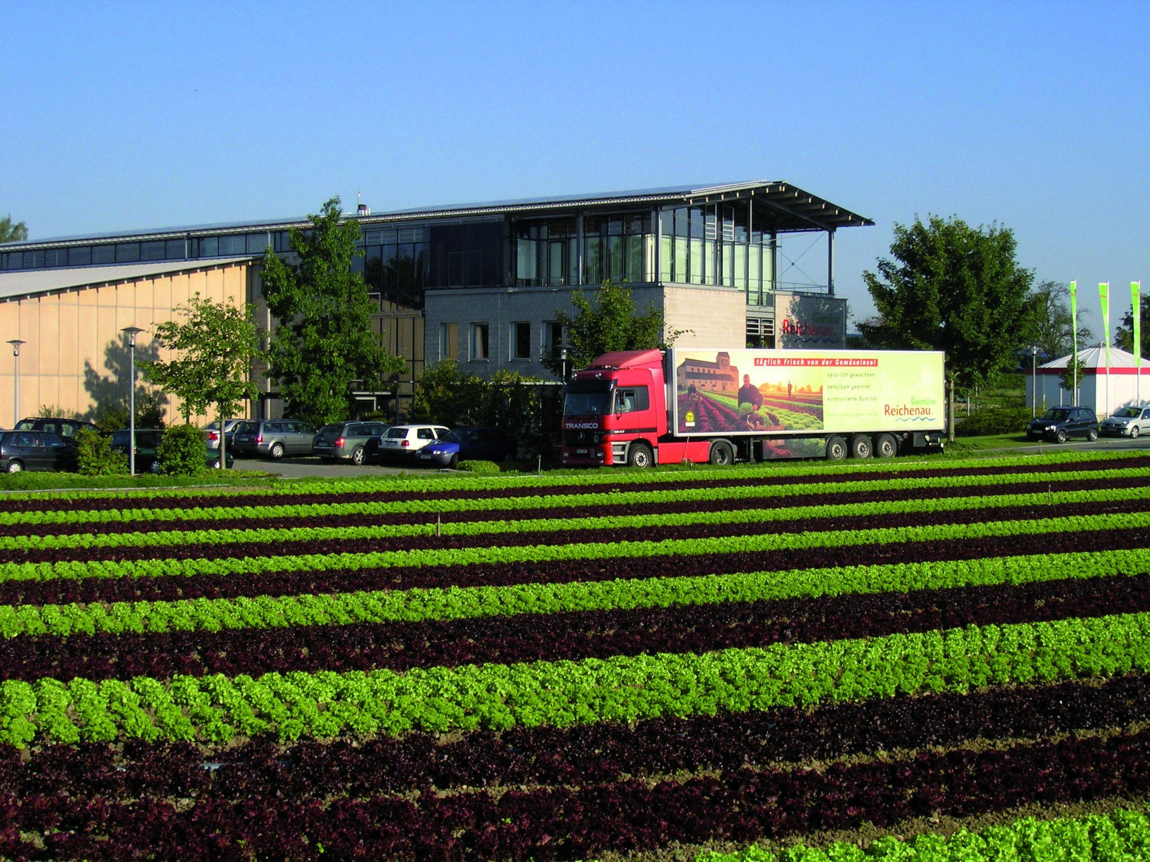Reichenau, LKW Transport von Obst   Deutschland - Mein Garten.