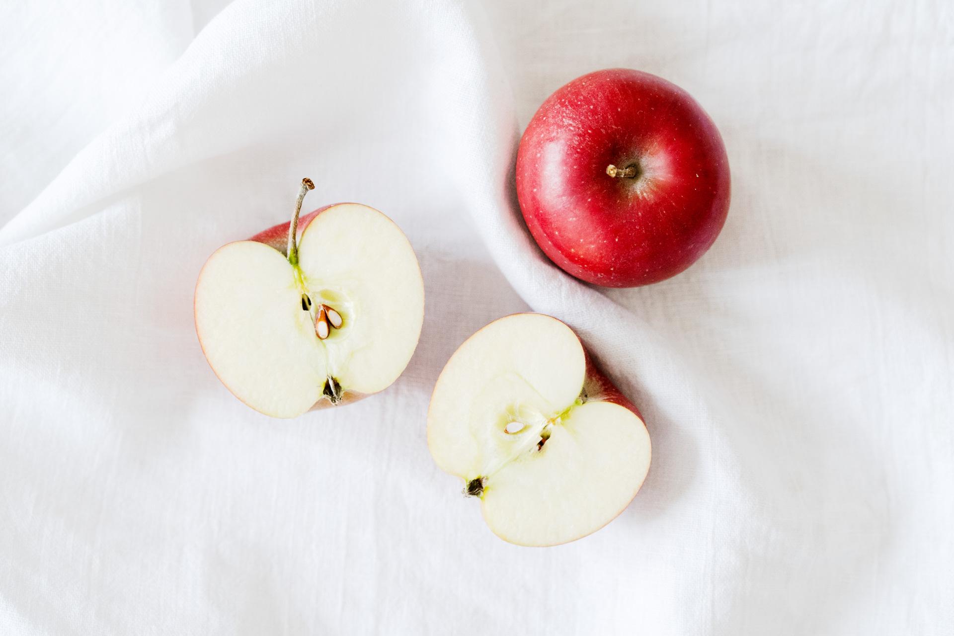 Apfel als Frucht der Liebe
