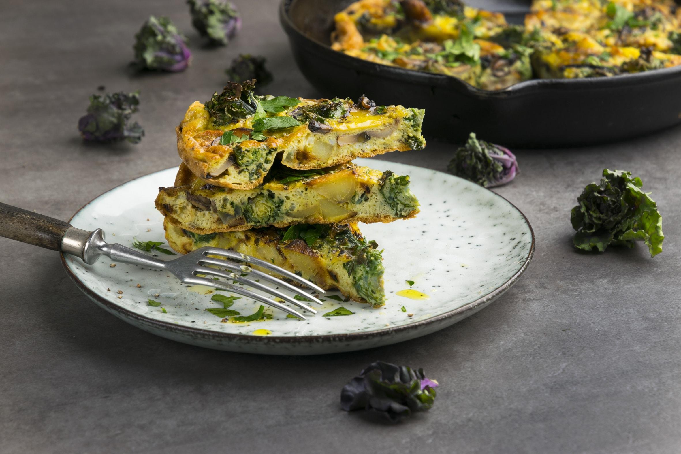 Fertige Kalettes-Tortilla