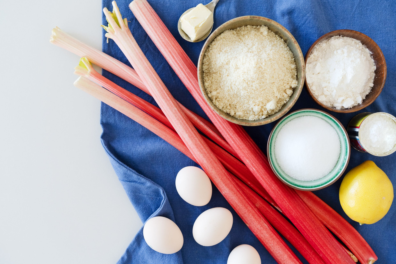 Rhabarberkuchen Zutaten