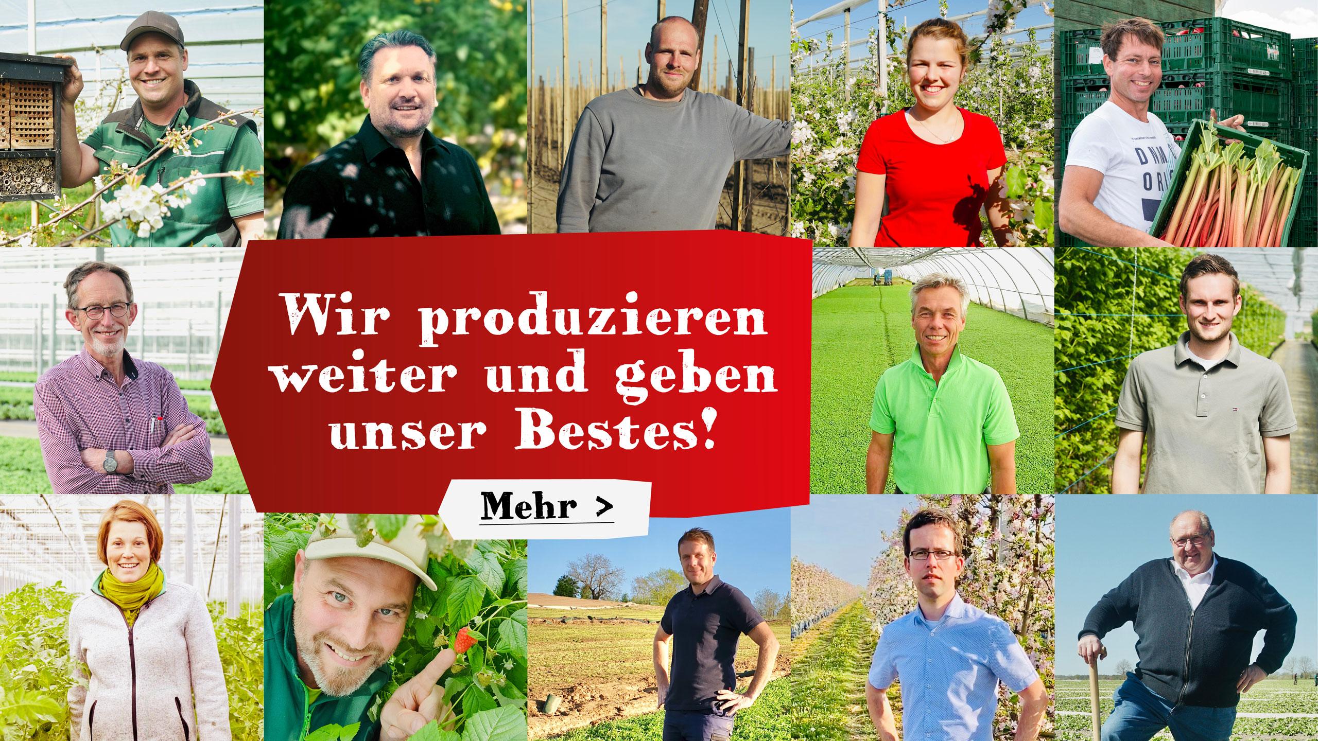 #wirgebenunserbestes alle Landwirte und Landwirtinnen sind im Einsatz